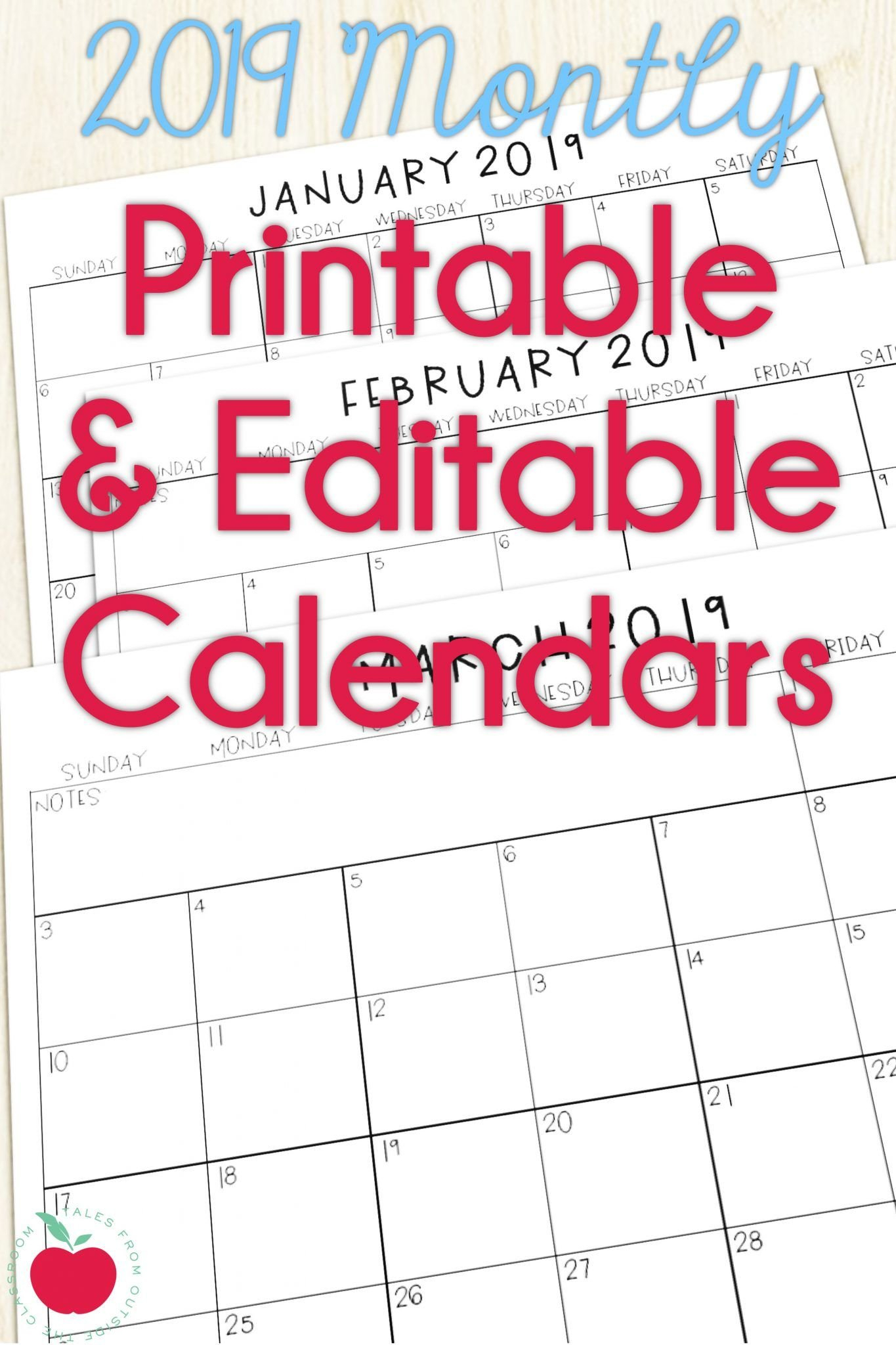 Blank Preschool Class Calendar   Example Calendar Printable Free Editable Preschool Calendar Template
