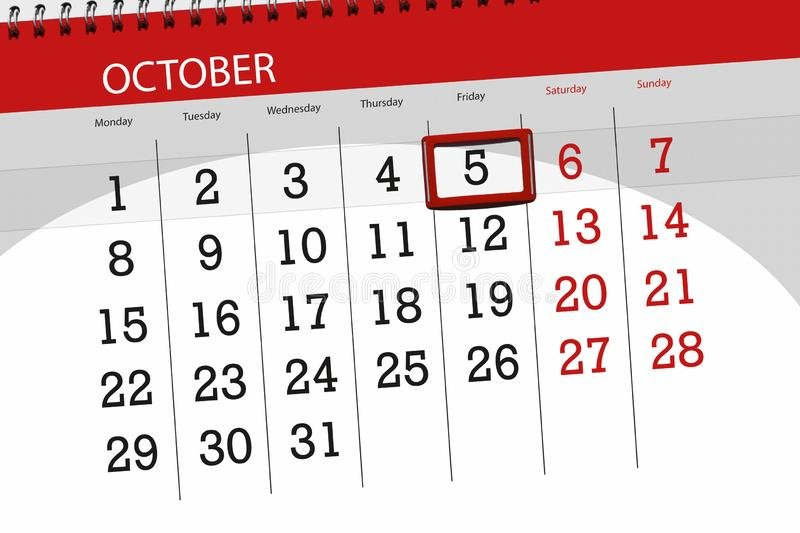 Calendar Planner For The Month, Deadline Day Of The Week Monthlyo 5 Day Calendar