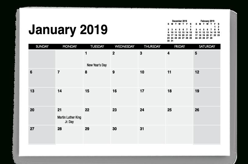 Calendar Templates | Printingcenterusa 8.5 X 5.5 Calendar Printable