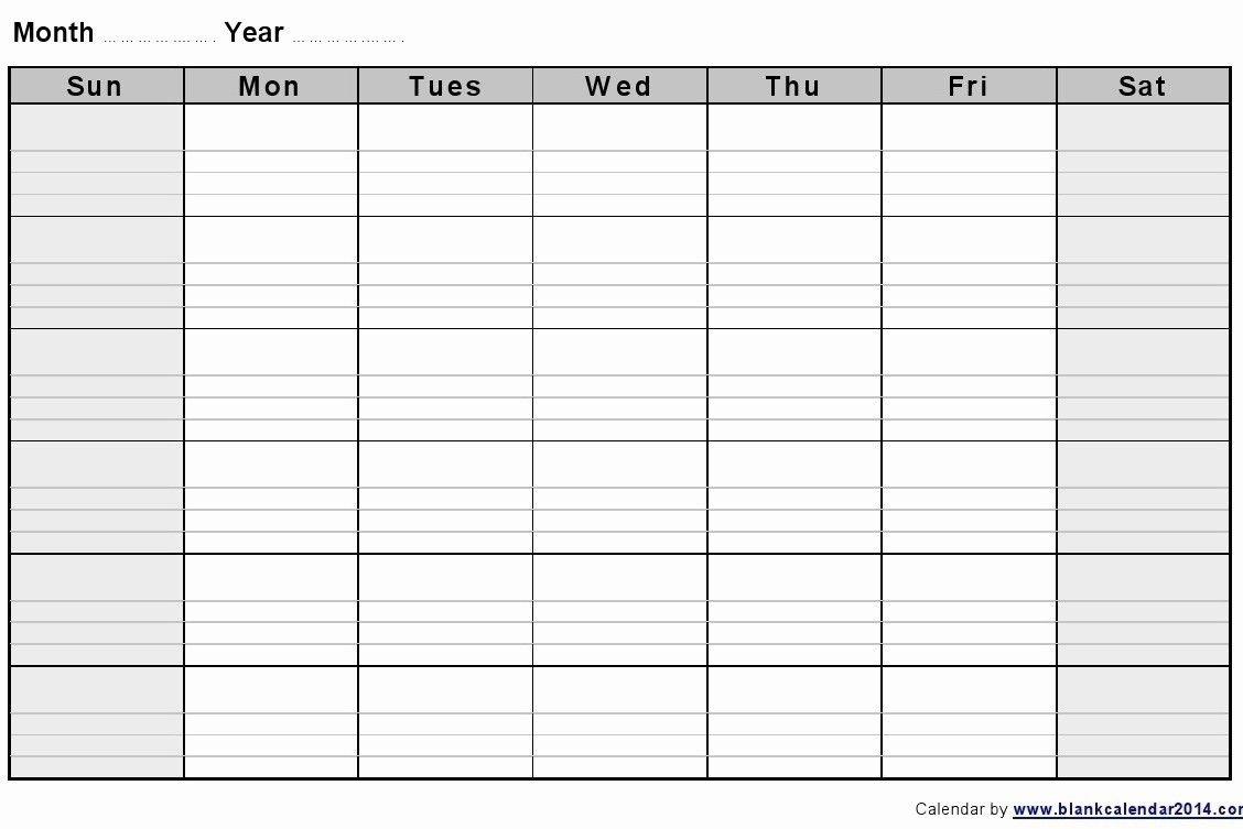 Calendar Week To Print | Month Calendar Printable Create 2 Week Schedule