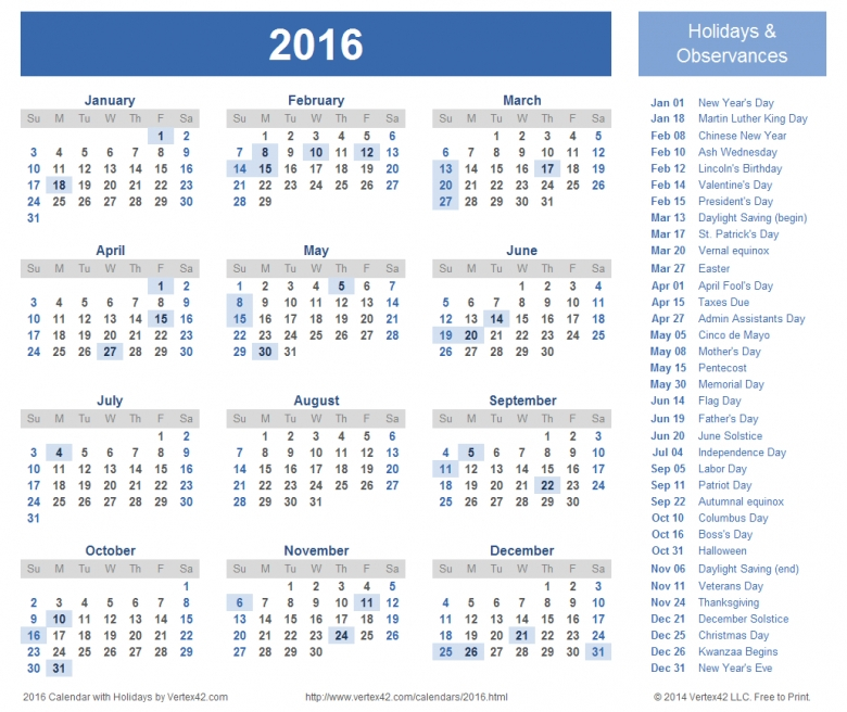 Calendar With Days Numbered 1 365 : Free Calendar Template Calendars With 365 Numbbering