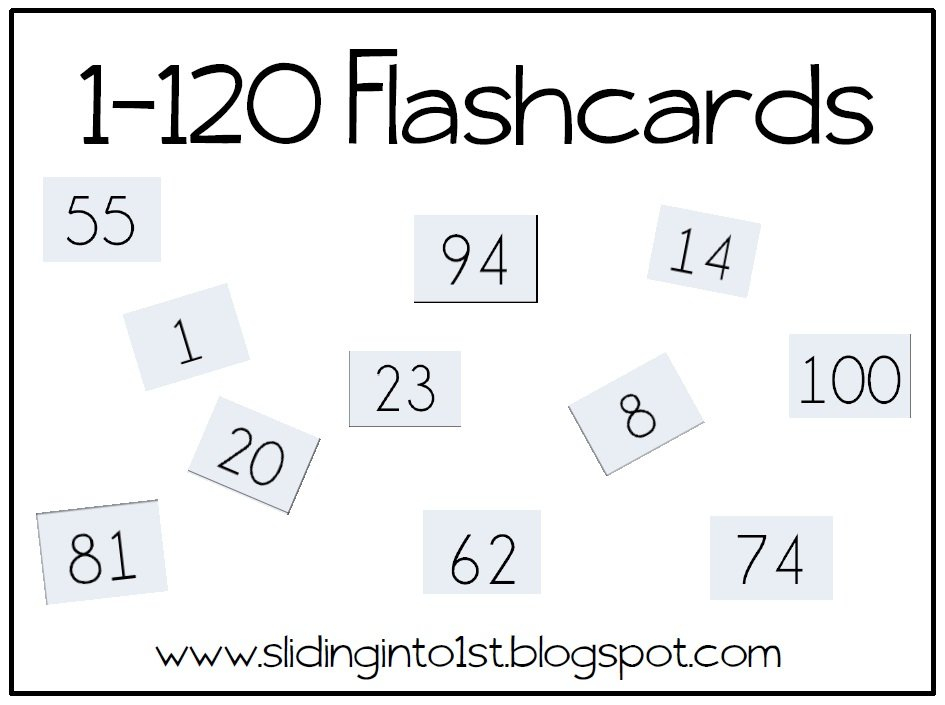 Class Snapshots & Two Freebies! | Teach & Play With Mrs J Free Printable Numbers Flashcards 1 To 31