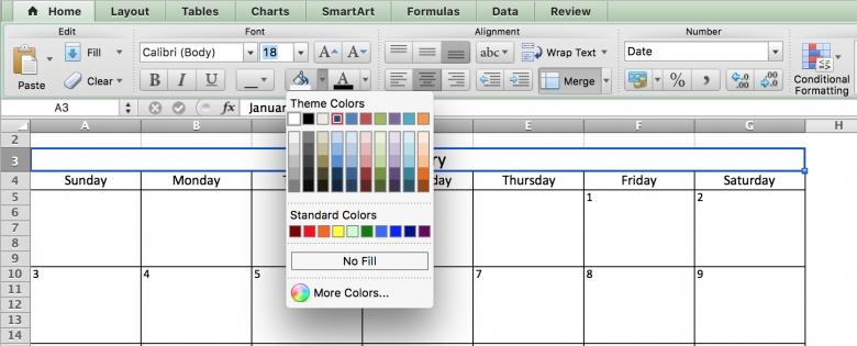 Color Coded Calendar Template : Free Calendar Template Color Coded Schedule Template
