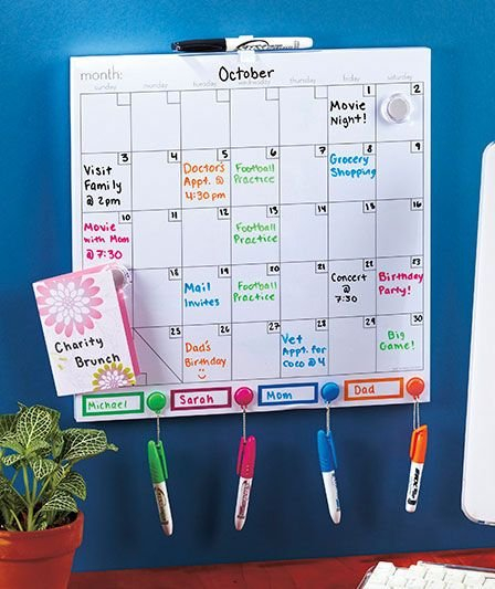 Color Coded Dry Erase Calendar Set | Abc Distributing Free Color Coded School Calendar Template