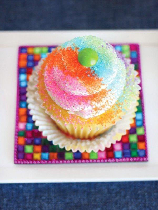 Cupcake Decorating Bar + Setup Tips | Cupcake Cakes Printable Cupcakes With Numbers 1 31