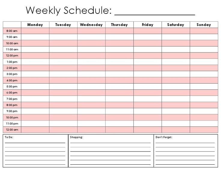 Day Time Slot Schedule | Printable Calendar Template 2021 Monthly Calednar To Schedule People Into Slots