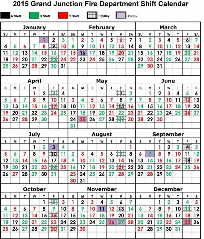 Fire Shift Calendar Templates : Free Calendar Template Free Printable Shift Calendars