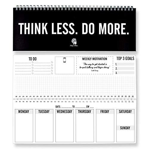 Fitlosophy 'Make Today Count' 365 Day Inspirational 365 Day Count Calendar