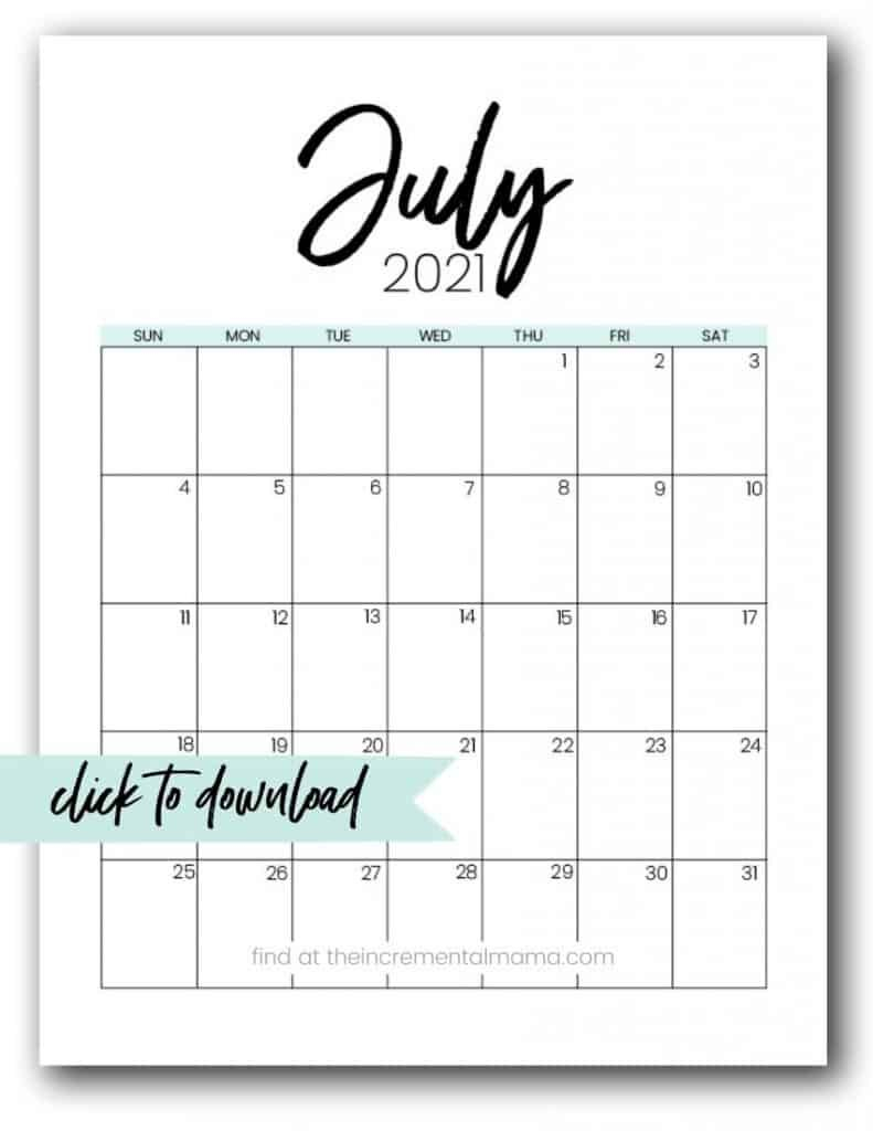 Free 2021 Monthly Calendar Printable Pdfs – The Diabeic Calenders To Write On Then Print It Out'