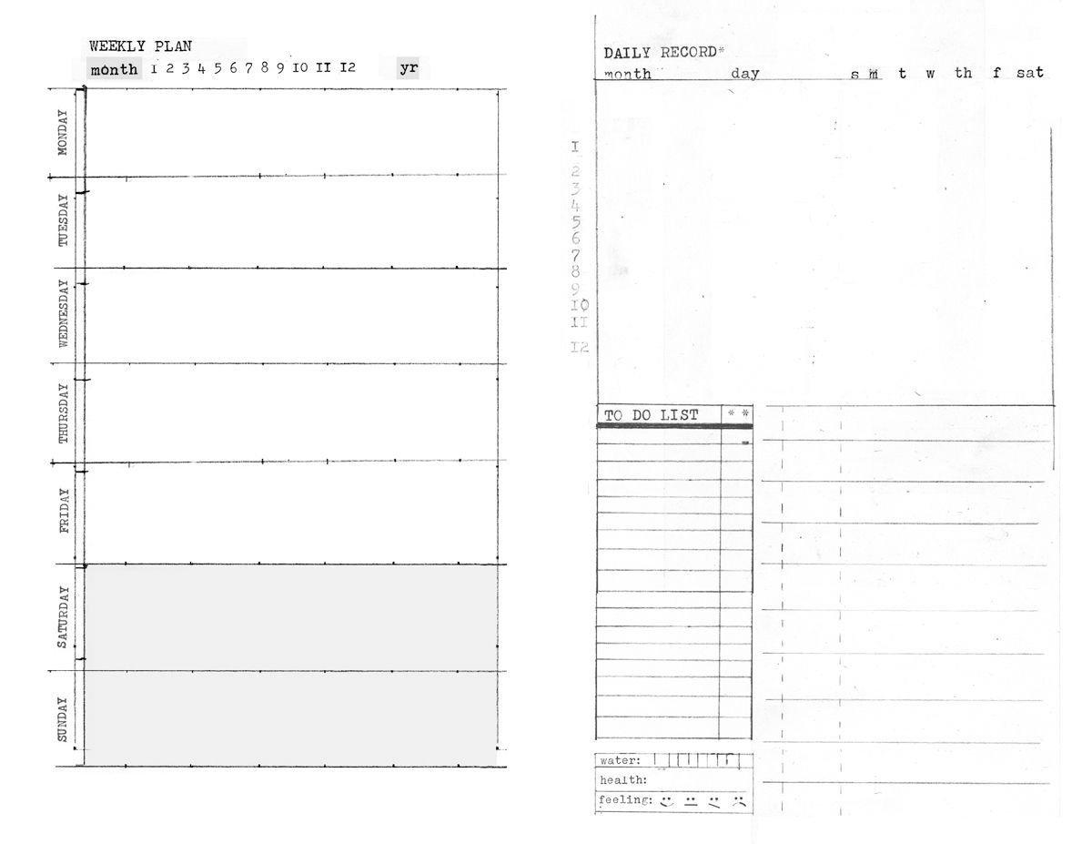 Free Daily 5.5 X 8.5 Daily Planner – Example Calendar 8.5 X 5.5 Calendar Printable