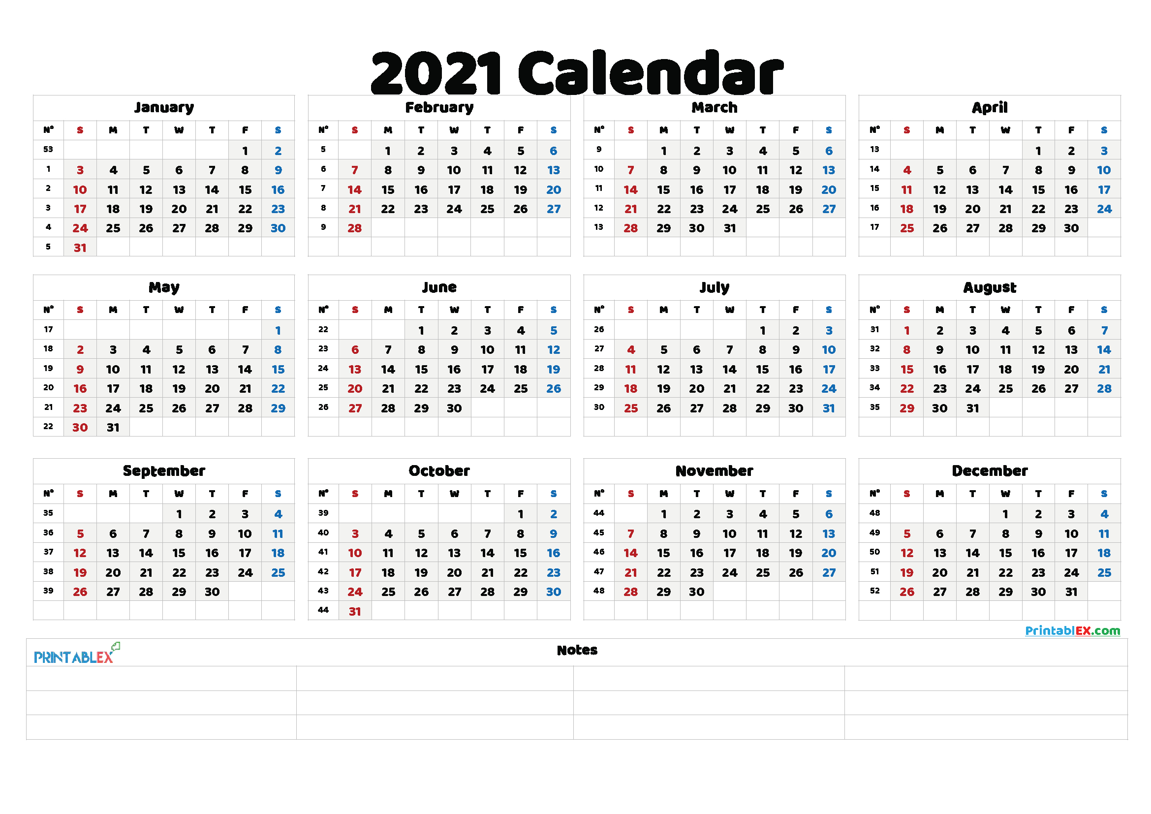Free Editable Weekly 2021 Calendar : Custom Editable 2021 Online Calander I Can Edit
