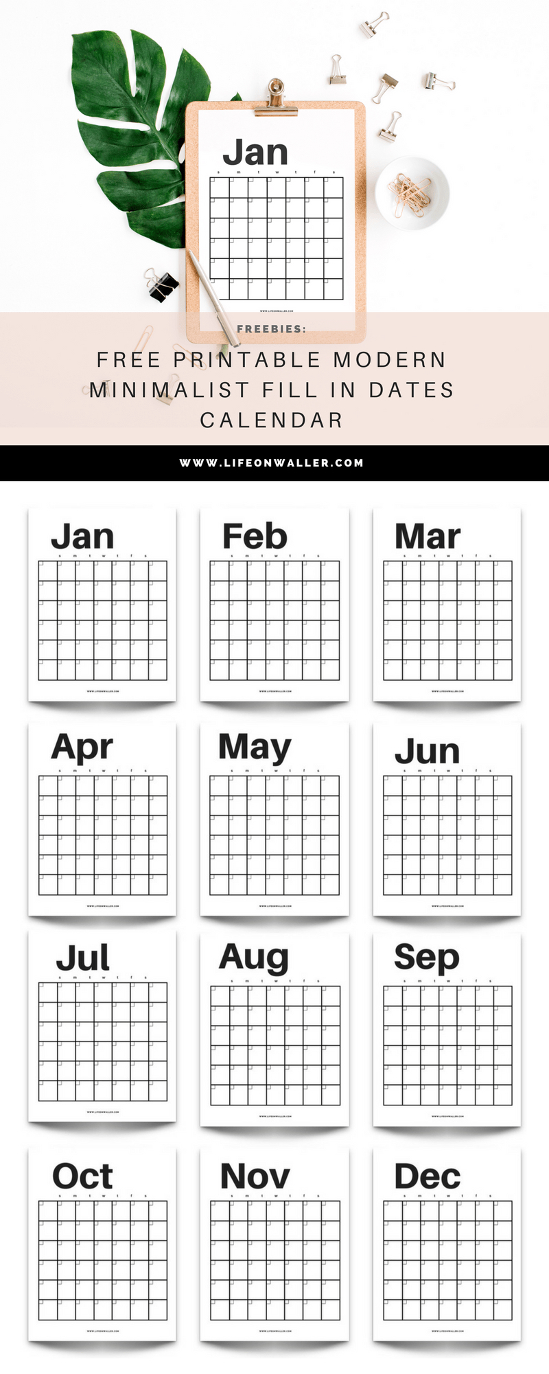 Free Fill In Printable Calendar | Calendar Printables Free Printable Fill In Schedule