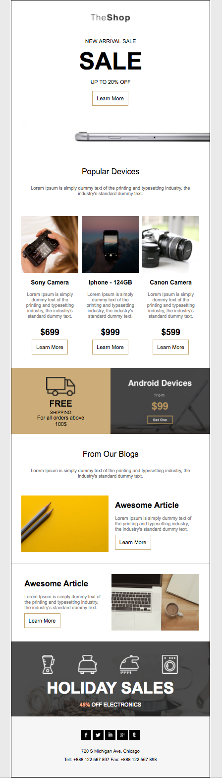 Free Newsletter Templates For Your Next Product Launch E Newsletter Content Plan Template