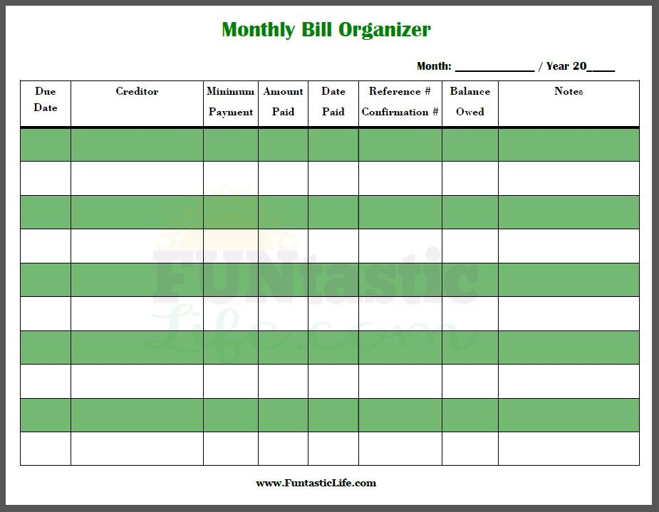 Free Printable Bill Calendar – Calendar Template 2020 Free Interactive Calendar Templates