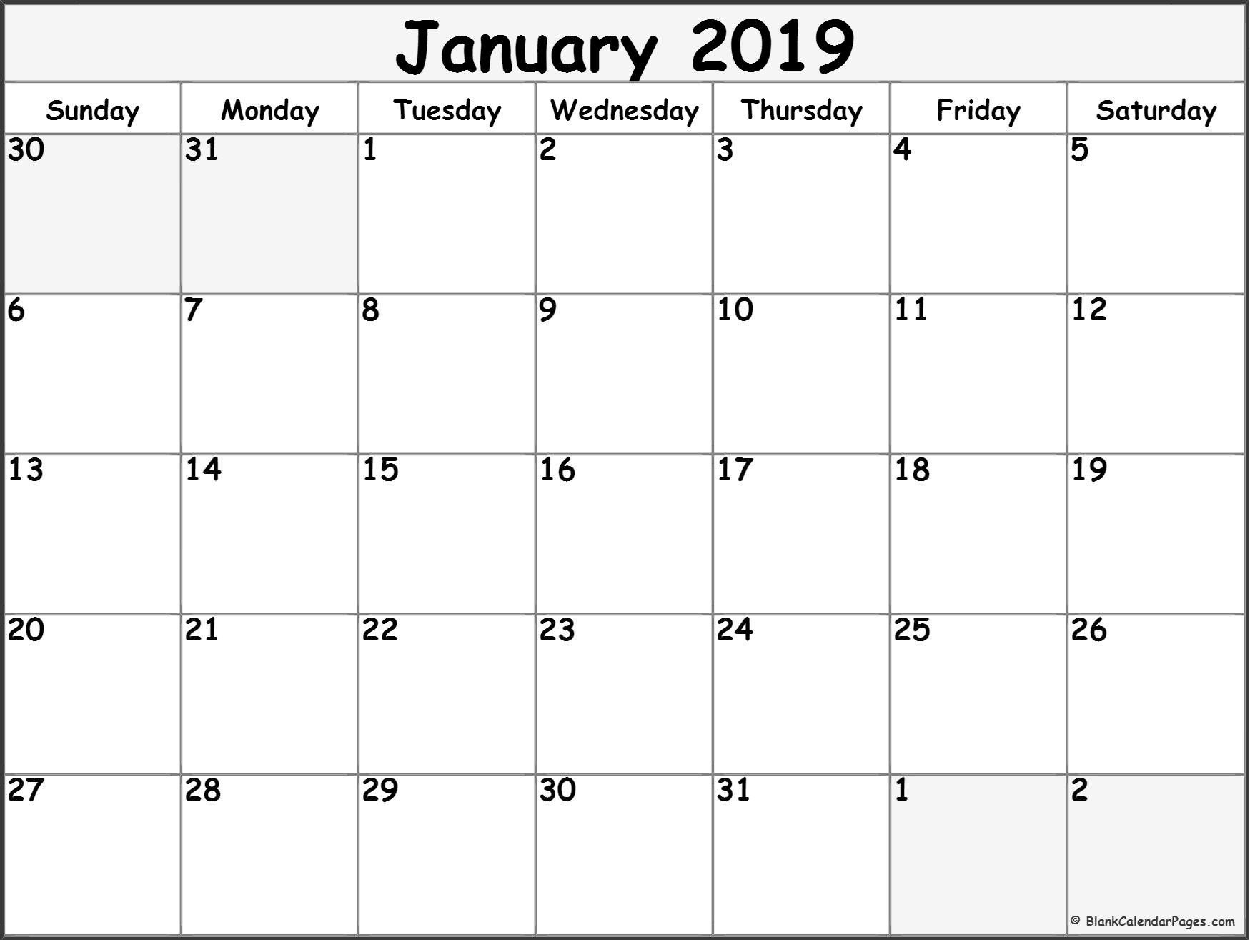 Free Printable Blank Calendars To Fill In – Calendar Printable Calendar That You Can Fill In Color In The Blocks