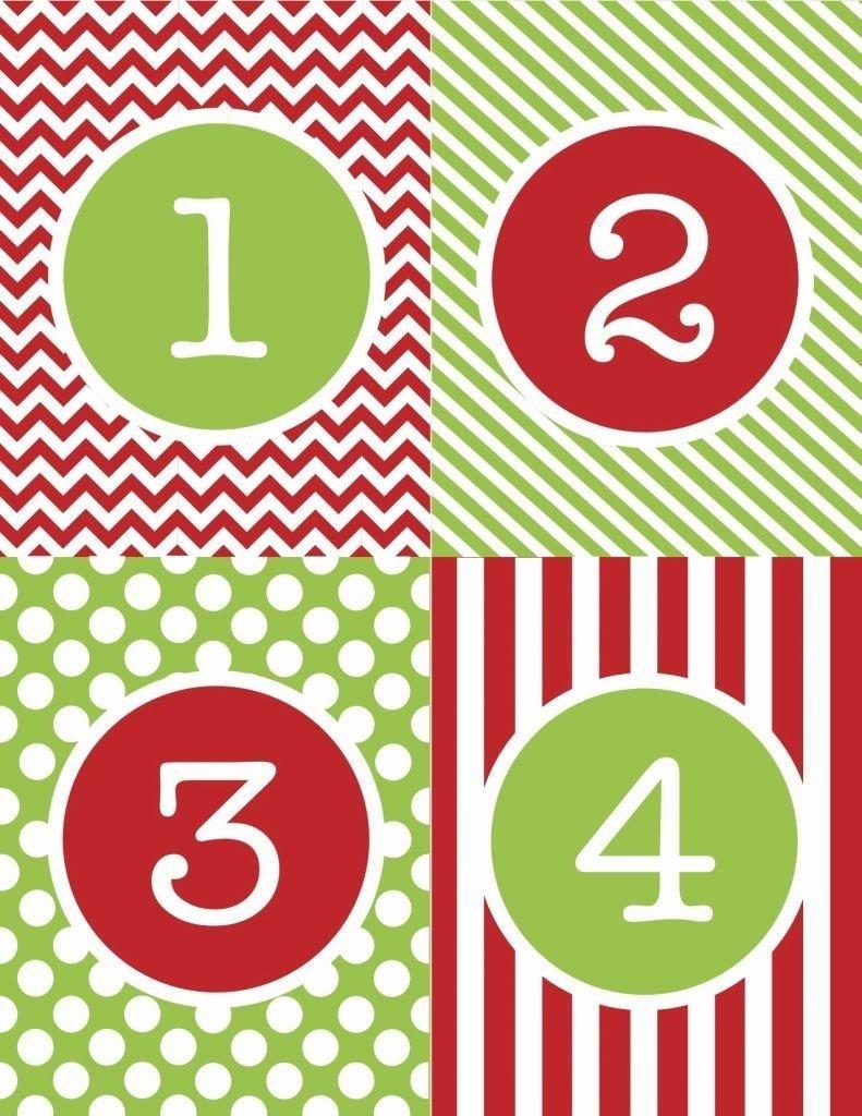 Free Printable Calendar Numbers 1 31 Pdf | Printable Printable Numbers 1 – 31