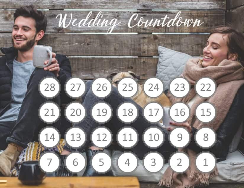 Free Printable Countdown Calendar Template   Customize Online 30 Day Retirement Countdown Coloring Calendar