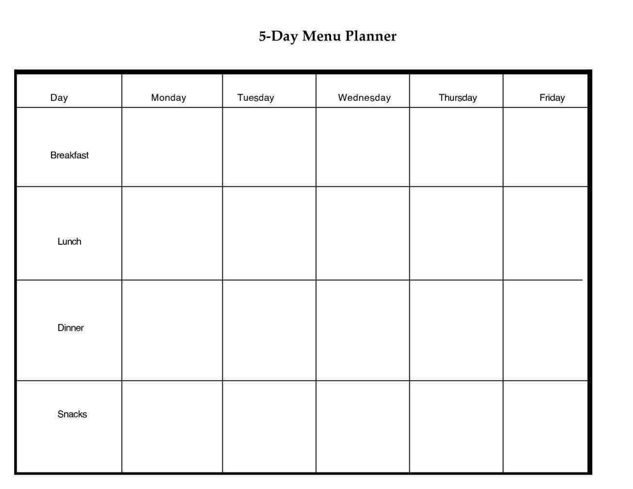 Fresh 5 Day Printable Calendar | Free Printable Calendar Monthlyo 5 Day Calendar