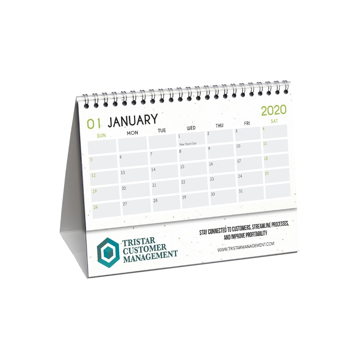 Hemp Paper Desk Flip Calendars   Boundless Print Hp Free Calander Templates