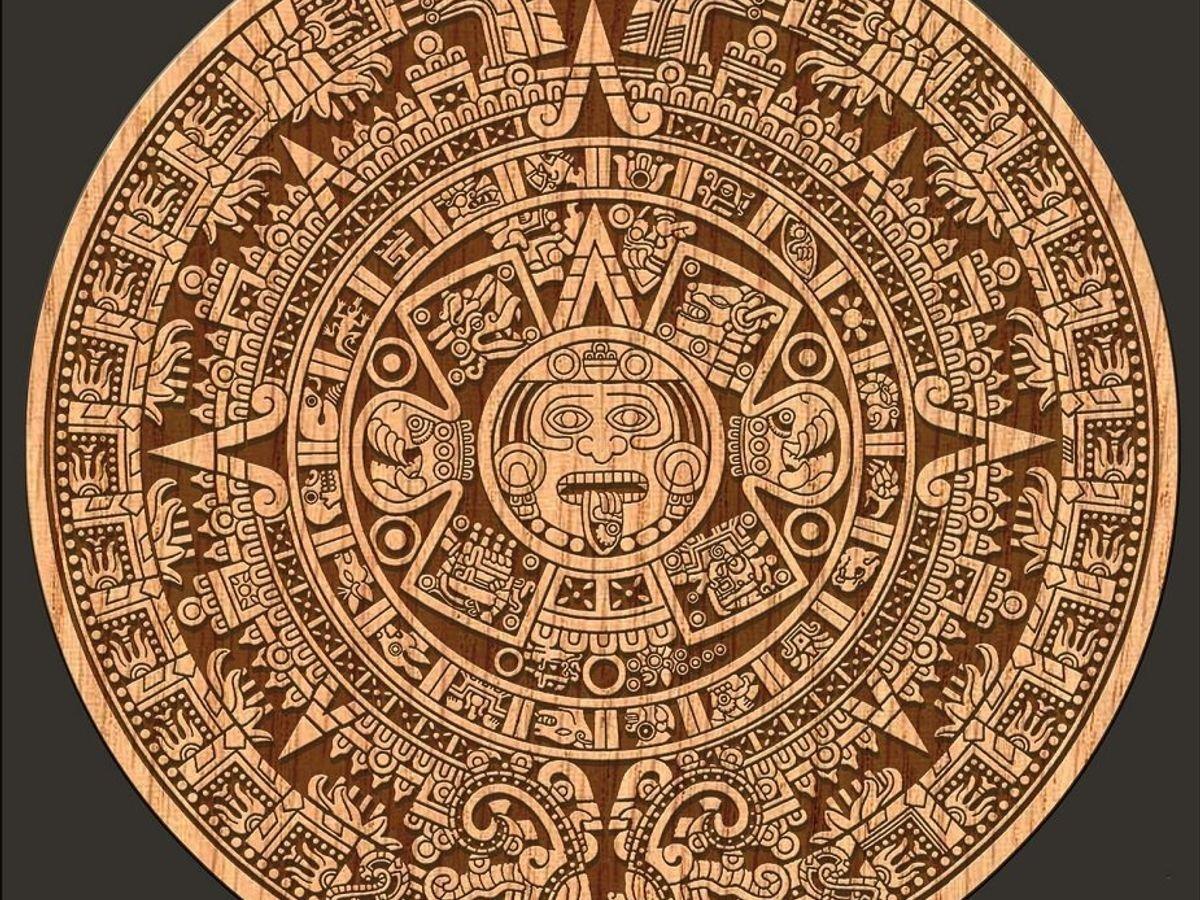 How Many Calendars Did The Maya Have   Printable Calendar Print A Mayan Calendar