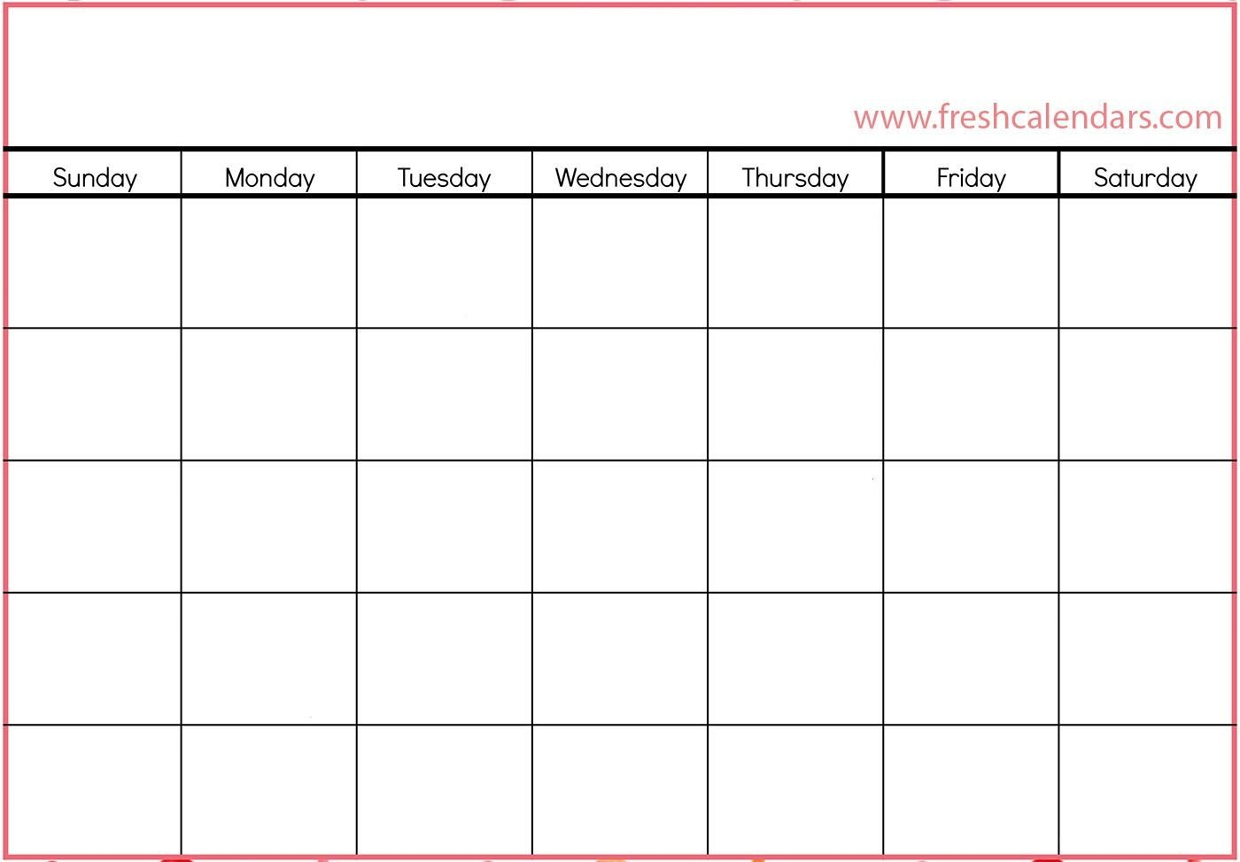 How To Blank Calendar I Can Edit   Get Your Calendar Printable Printable Calendar I Can Edit And Pring