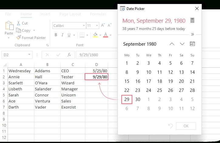 How To Create A Drop Down Calendar In Excel Template How To Add Claendar Template In Excel Dropdown