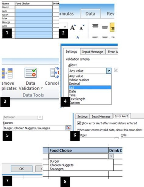 How To Create A Drop Down Menu In Microsoft Excel How To Add Claendar Template In Excel Dropdown