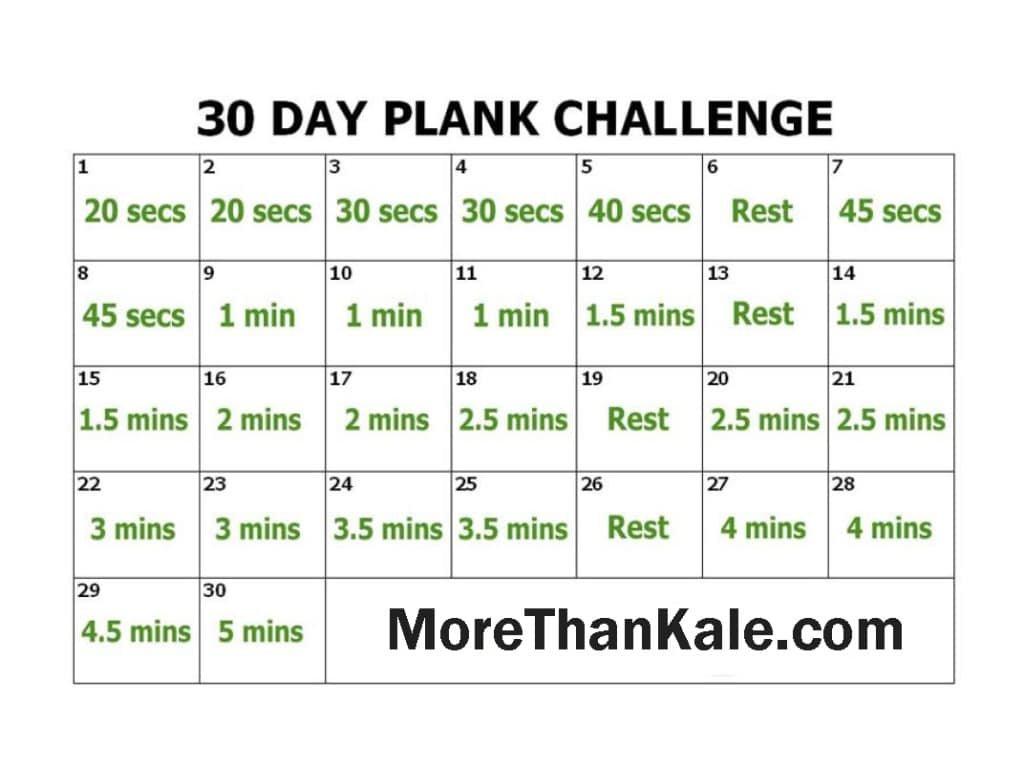 Innovative 30 Day Plank Challenge Printable Pdf Calendar 30 Day Printable Calender