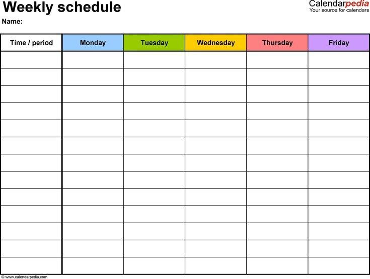 Judicious 2 Week Blank Calendar Time Table Chart Designs Blank Two Week Calendar