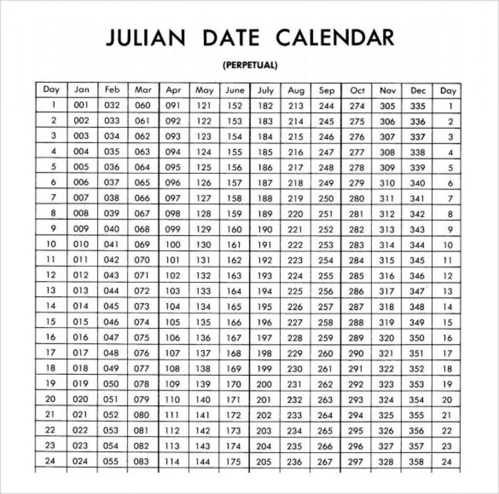 Julian Date Calendar Leap Year | Calendar For Planning Excel Leap Year Julian Date Cal