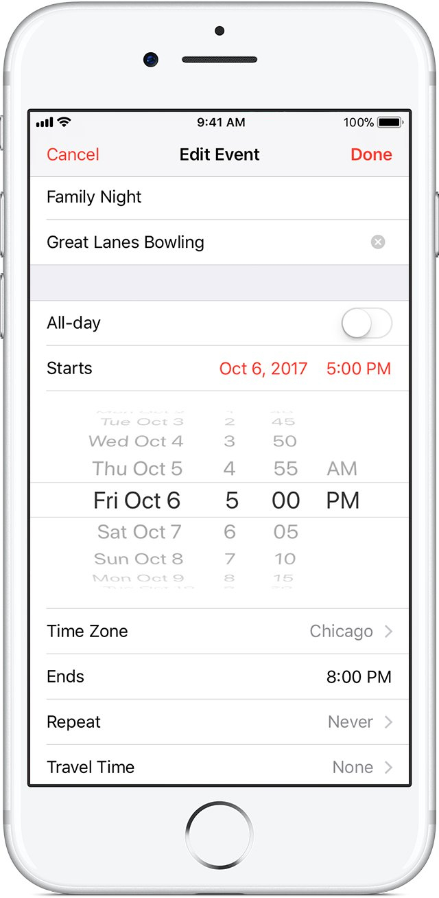 Keep Your Calendar Up To Date With Icloud – Apple Support Calendar I Can Modify