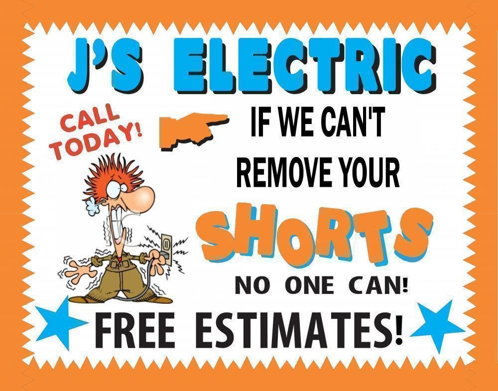 Make An Electrician Business Poster   Technician Sign Write On Calander With Min Of 16 Line