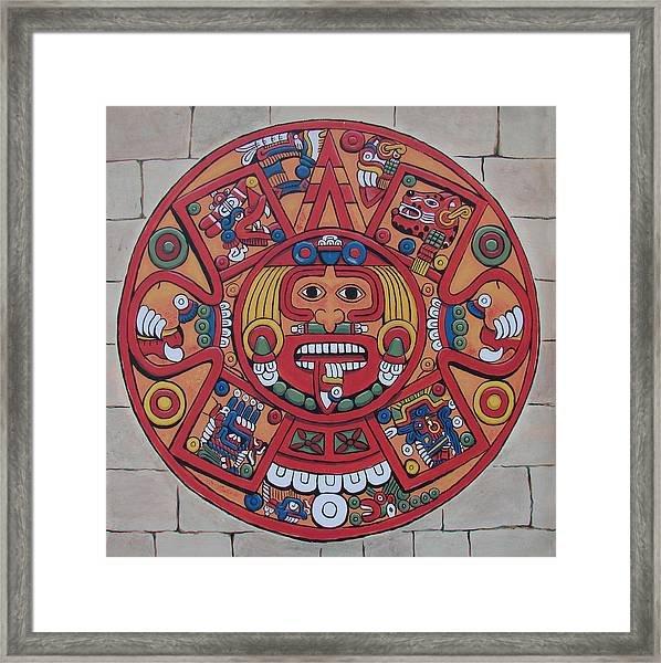 Mayan Calendar Paintingbob Gregory Print A Mayan Calendar
