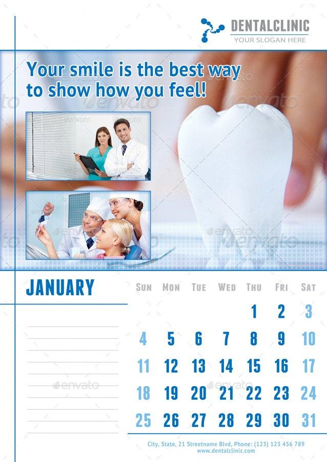 Medical Or Dental Clinic Calendar 2019 – 2020 Template Printable 2020 Med Expiration Calendar