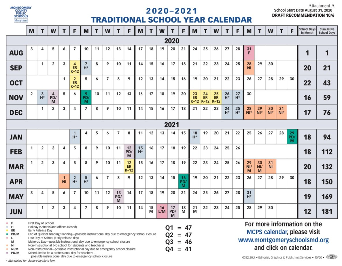 Moco Board Of Education Votes Unanimously To Edit Calendar Calendar I Can Modify