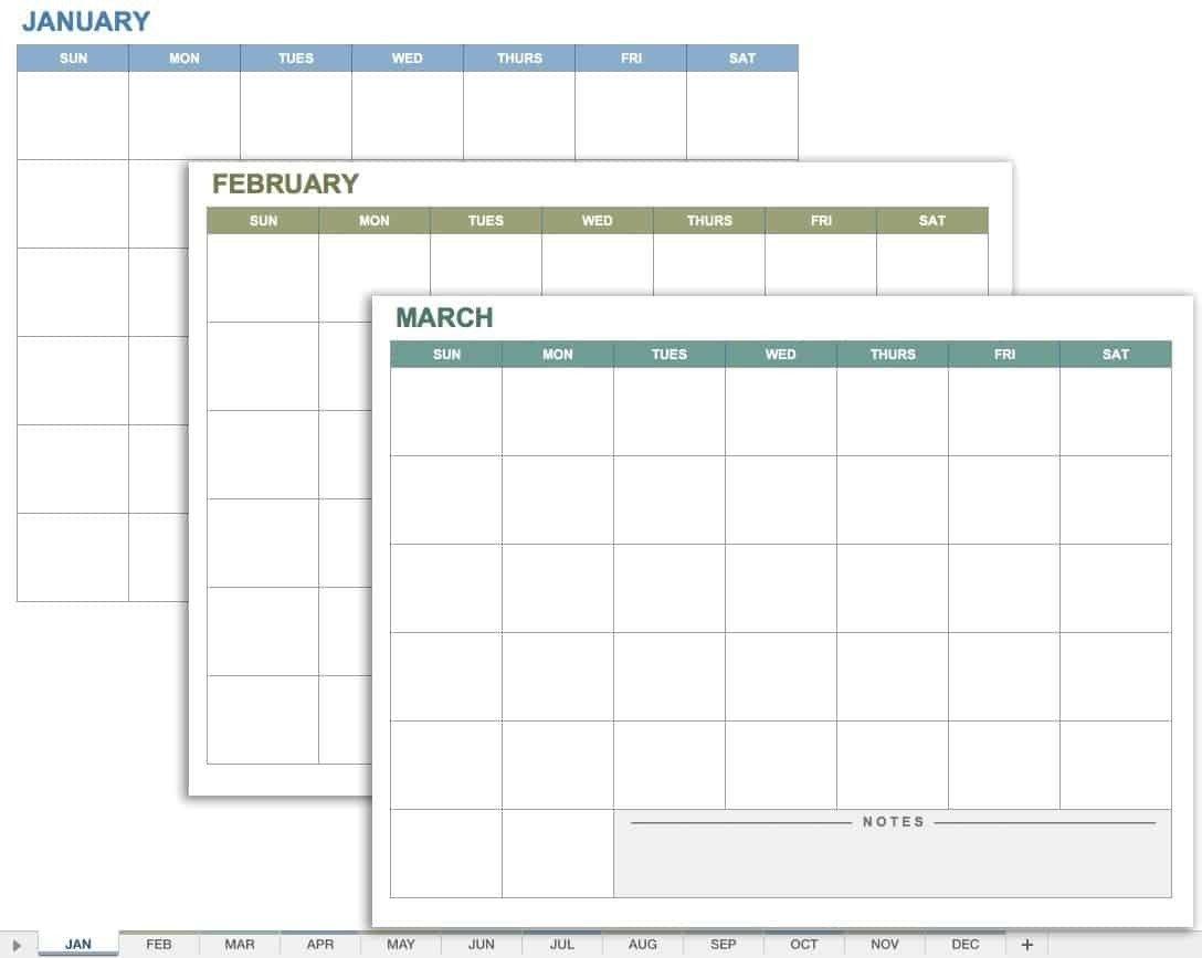 Mon To Friday Monthly Calendar Templates   Calendar Meeting Templates Mon – Fri