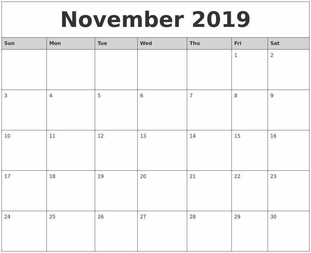 Monday Through Sunday Calendar Template Inspirational Free Printable Calendars By Month Monday Through Sunday