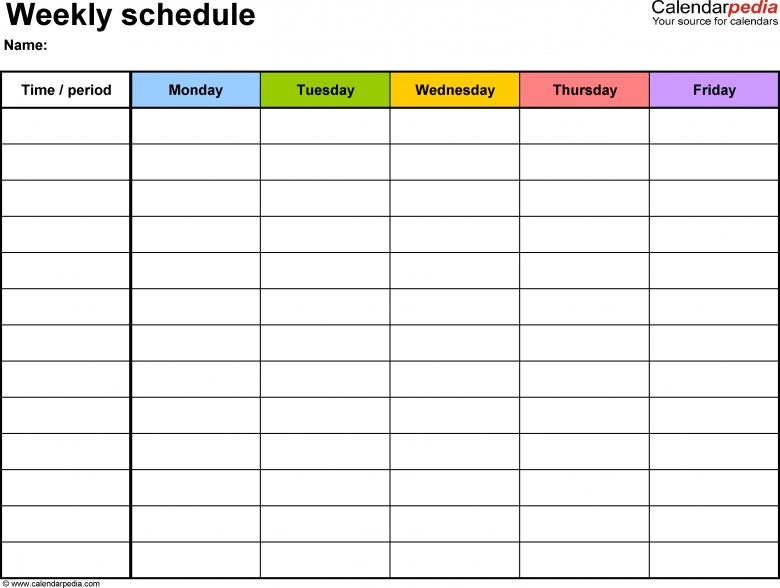 Monthly Appointment Calendars To Print And Fill Out : Free Fill In Calendar Printable