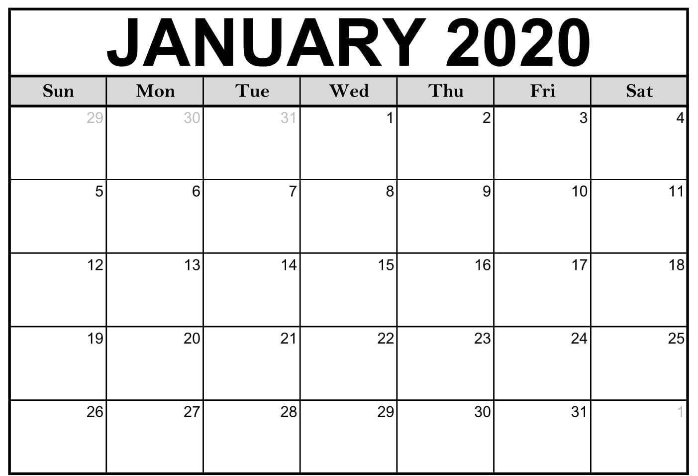 Monthly Calendar 2021 Printable Large   Calendar Template Large Square Calendar Template