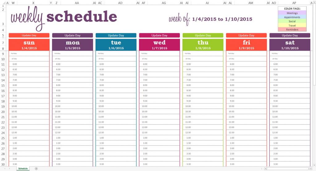 October 2020 Weekly Calendar Editable Half Hourly Printable 2020 Calendar Free Saturday To Friday