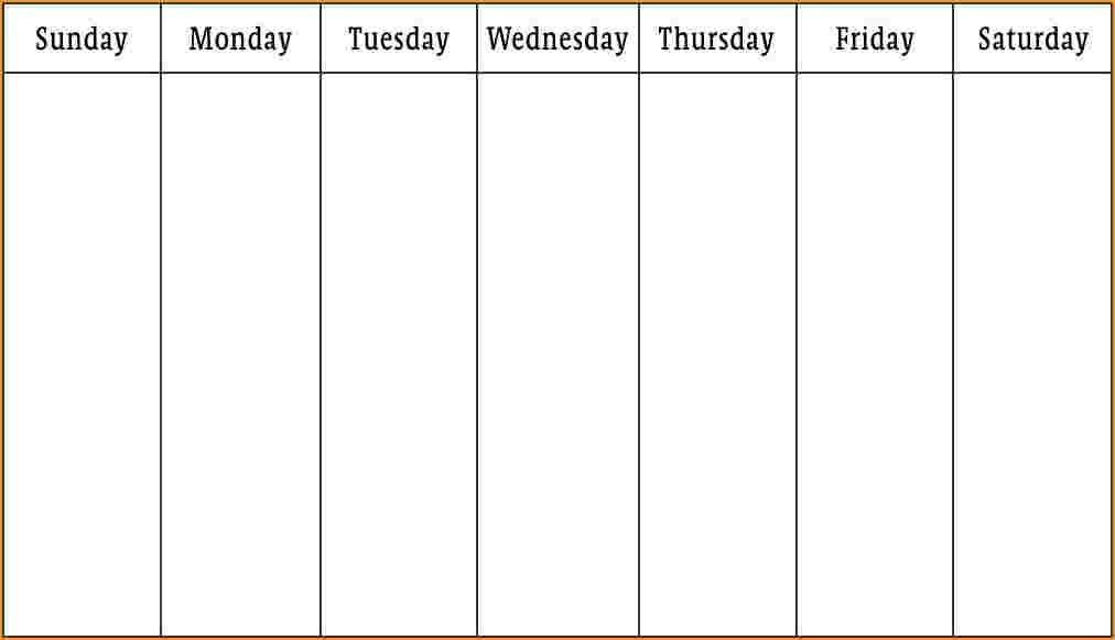 Pintim Kidder On Blank Weekly Calendar   Blank Weekly 4 Week Printable Calendar