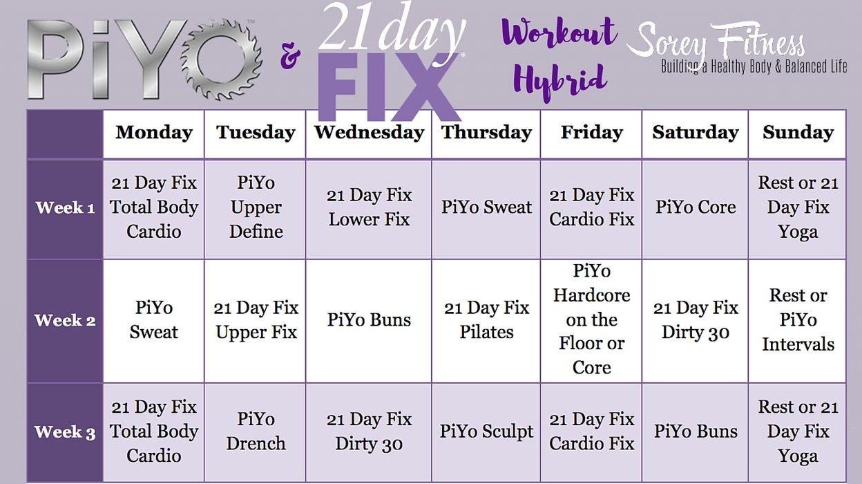 Piyo 8 Week Calendar | Calendar Printables Free Templates 8 Week Calendar Blank