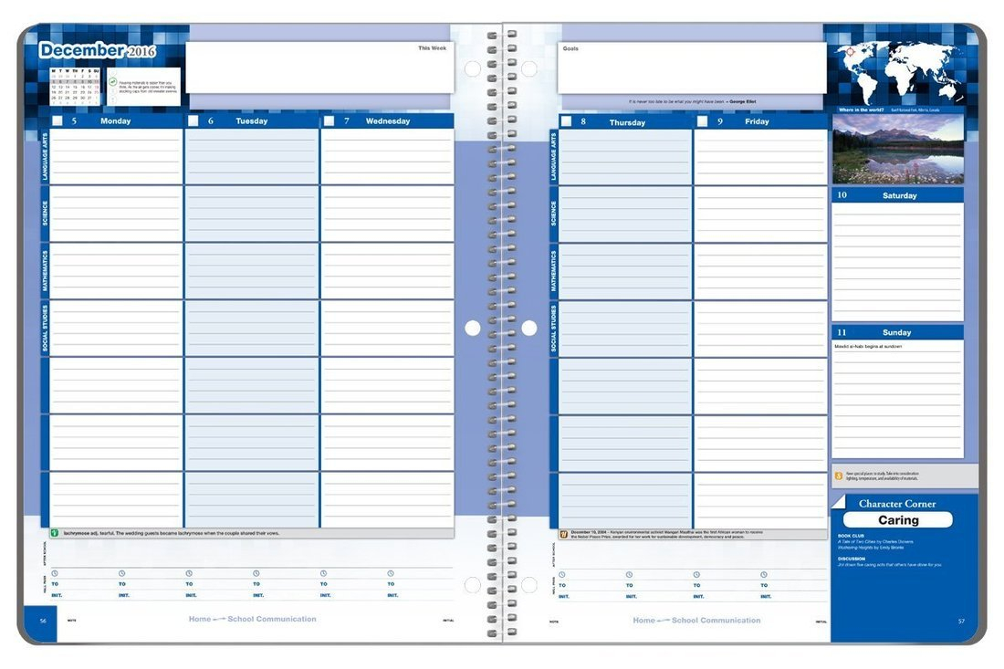 Planner Plan – Myp Design At Anwatin Middle School 5.5 X 8.5 Planner Templates