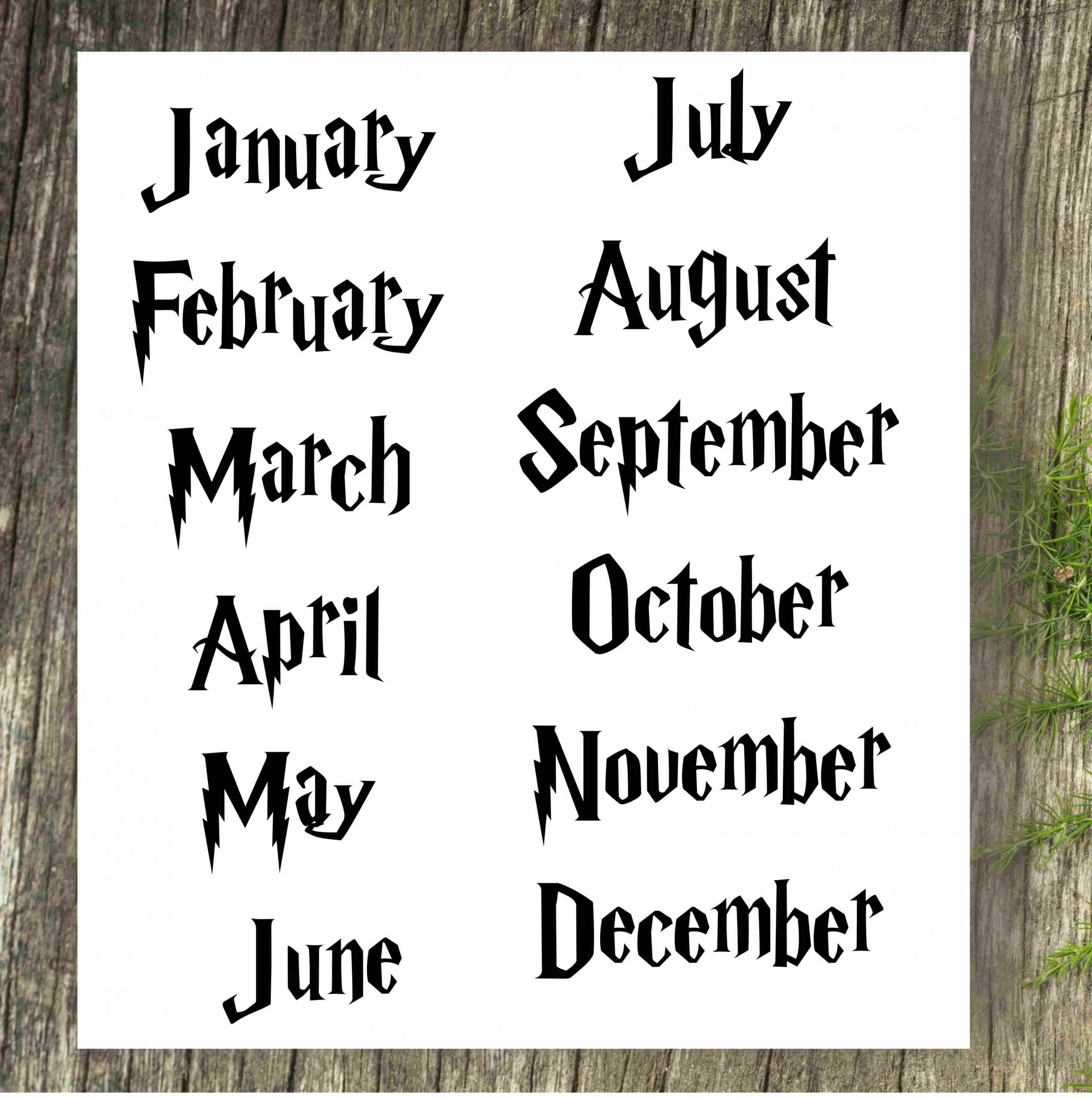 Pregnancy Announcement Calendar – Harry Potter – Personalized How To Make Baby Due Date Calendar April 2020