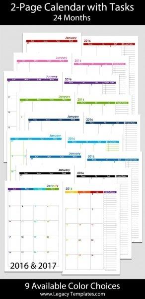 Printable 5 X 8 Calendars | Printable Calendar Template 2020 Free 8.5 X 5.5 Printable Calendar