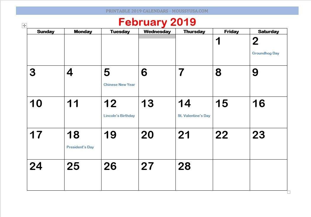 Printable Calendar 2019   Calendar, Printable Calendar Printable Calendar I Can Edit And Pring