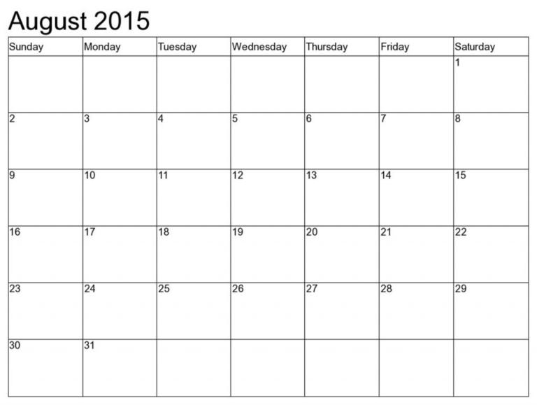 Printable Calendar 8 X 11 | Printable Calendar 2019 8 X 11 8 X 11 Calendar Template