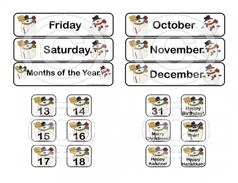 Printable Calendar Numbers 1 31 : Free Calendar Template Printable Calendar Numbers 1 31