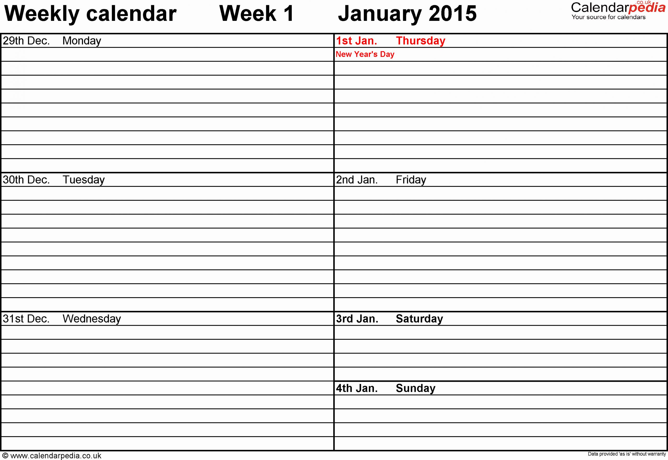 Printable Calendar Two Weeks | Calendar Printables Free Two Week Calendar Form