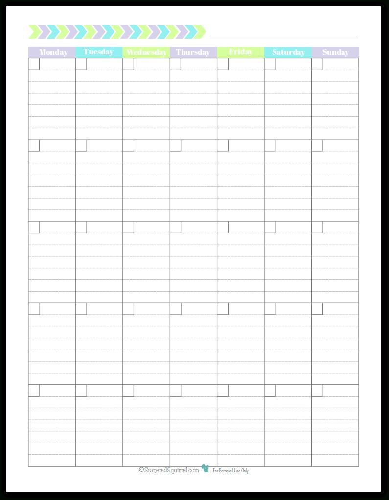 Printable Lined Monthly Calendar | Calendar For Planning Free Lined Calendar Templates Printable